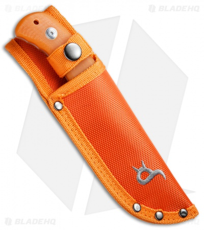 "BlackFox Outdoor 132 Fixed Blade Knife Orange G-10 (3.9"" Satin) 02FX113"