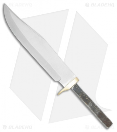 "Tallen Bowie Fixed Blade Knife Blank (10"" Satin)"