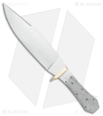 "Tallen Coffin Bowie Fixed Blade Knife Blank (7.5"" Satin)"
