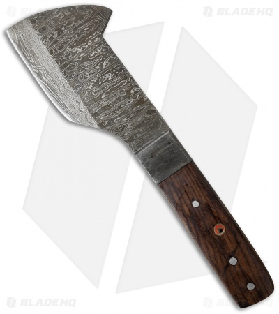 "Grindworx Butcher Damascus Fixed Blade Knife (5.25"" Damascus)"