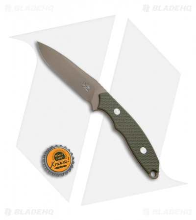 "Hinderer Knives Flashpoint Fixed Blade Knife OD Green G-10 (3"" FDE)"
