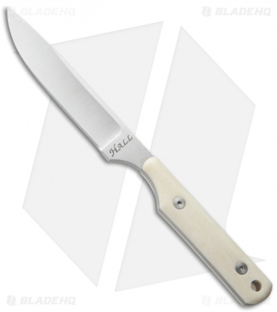 "Jeff Hall Custom Neck Knife Bone (2.625"" Satin)"
