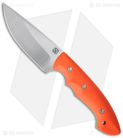 "Klecker Abiqua Hunter Fixed Blade Knife Orange G-10 (4"" Satin) DK-151-GO"