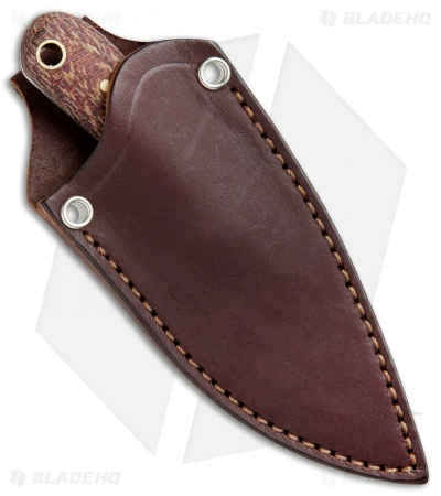 "LT Wright Knives Lil Muk Fixed Blade Shadetree Maroon (2.75"" Satin A2)"