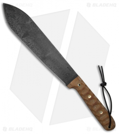 "LT Wright Overland Machete Fixed Blade Natural Micarta (12.25"" Patina)"