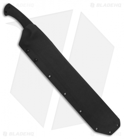 "Medford TacMach Machete Fixed Blade Knife Black G-10 (12.5"" Black PVD) MKT"