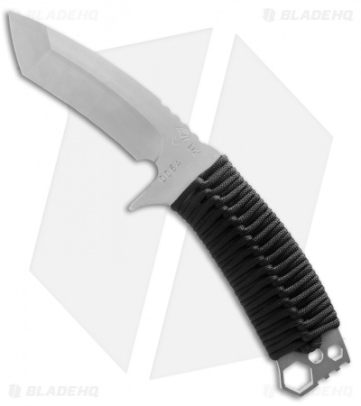 "Medford TS-1 Tactical Service Knife Black Katana Wrap (4.25"" NP3) MKT"