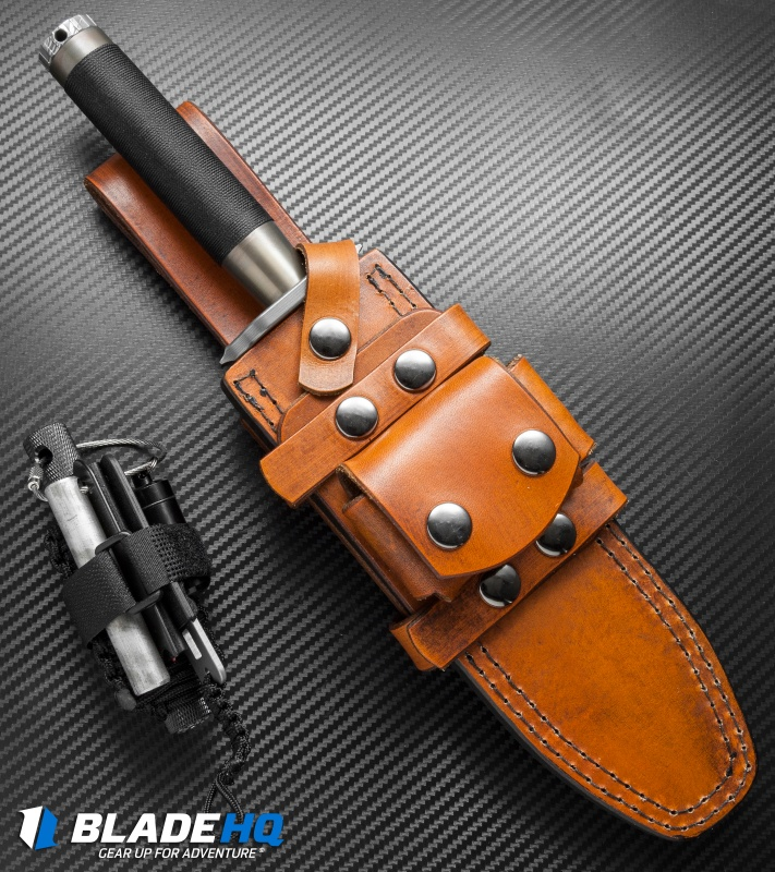 Marfione Custom Knives Interceptor Survival Knife Bronzed ...