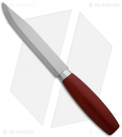 "Morakniv Classic Number 3 Fixed Blade (5.875"" Satin Plain) Red"