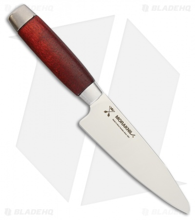 "Morakniv Classic Utility Kitchen Knife Red Wood (5"" Satin) 1891"