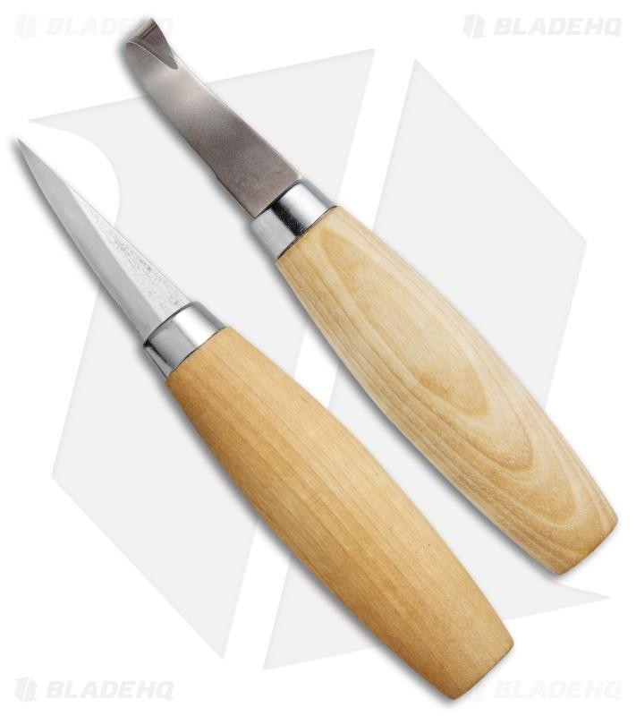 Morakniv Woodcarving Knife Set Mutli Pack Set Of 2 M Mpw