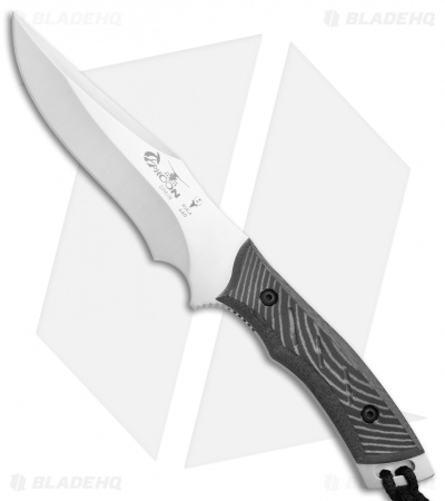 "Muela Typhoon Fixed Blade Knife Black Micarta (5.75"" Satin)"