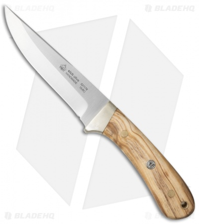 "Puma IP Knives Elch Hunting Fixed Blade Knife Olivewood (5"" Satin)"