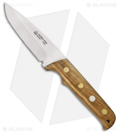 "Puma IP Cantabo Fixed Blade Knife Olive Wood (3.875"" Satin) 824055"