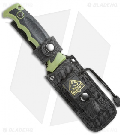 "Puma SGB Forever Knife XP Fixed Blade Green (4.5"" Black)"