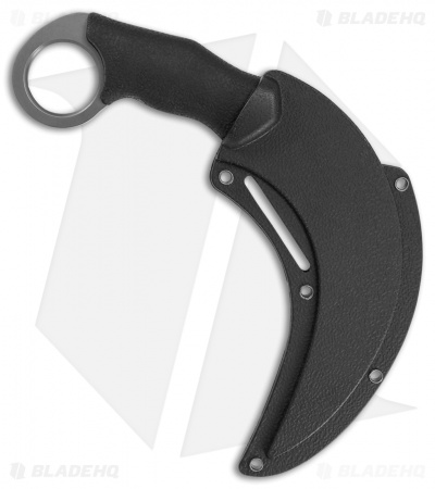 "Schrade Shasta Mc'Nasty Karambit Fixed Blade Knife (5.5"" Gray)"