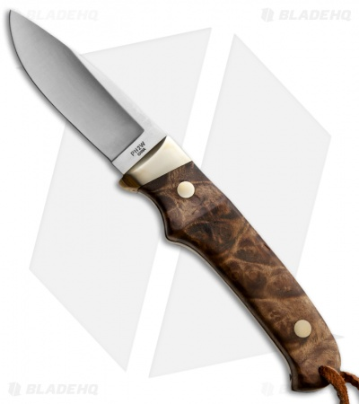 "Schrade Old Timer Small Pro Hunter Fixed Blade Knife Ironwood (2.75"" Satin) PH2W"