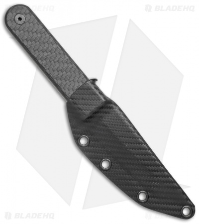 "Schwartz Tactical Bloodline Kwaiken Tanto Fixed Blade Knife CF (4.1"" Stonewash)"