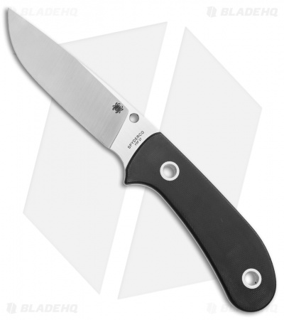 "Spyderco Gayle Bradley Junction Fixed Blade Knife G-10 (4.2"" Satin) FB38GP"