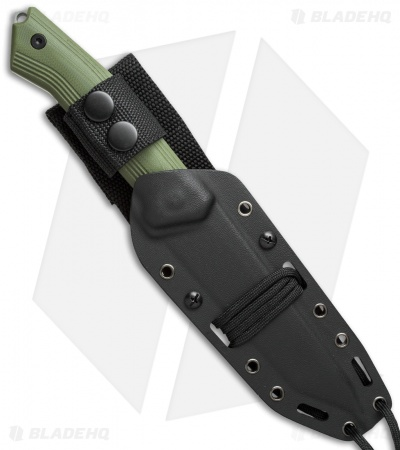 "Steel Will Knives Sentence 131 Fixed Blade Knife Olive Green G-10 (5.375"" Satin)"