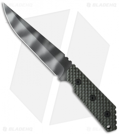 "Strider MK1C GG Knife OD Green G-10 (5.5"" Tiger Stripe)"