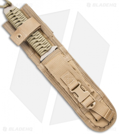 "Strider BT Fixed Blade Knife Coyote Paracord (6.25"" Tan)"