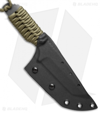 "Strider Knives DB-L Tanto Knife Coyote Paracord (4"" Tiger Stripe)"