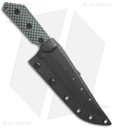 "Strider MK1C GG Fixed Blade Knife OD Green G-10 (5.5"" Stonewash)"