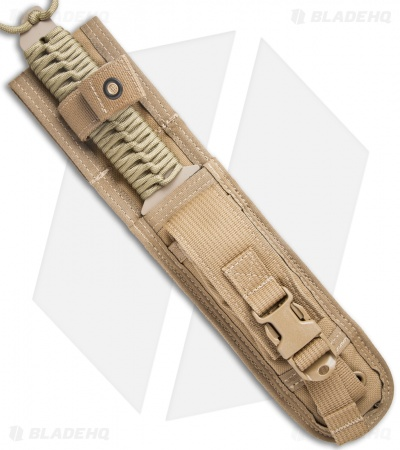 "Strider MT Sniper Fixed Blade Knife Coyote Paracord (6.25"" Tan)"