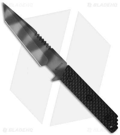 "Strider VB-SS Tanto Knife Gunner Grip Black G-10 (5.5"" Tiger Stripe)"