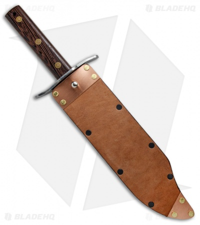 "Svord Von Tempsky Bowie Limited Edition Fixed Blade Copper Sheath (11"" Satin)"