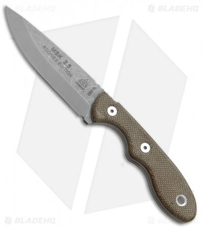 "TOPS Knives Mini Scandi Rockies Edition Fixed Blade Knife (3"" SW) MSK-2.5"