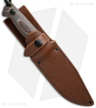 "Treeman Knives Combat Chute Knife Snakeskin Canvas (5"" Coyote) #9"