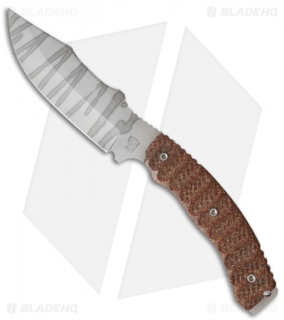 "Trouble Blades Bush Bitch Equalizer Knife Thunderstorm Kevlar (6"" Stripe)"