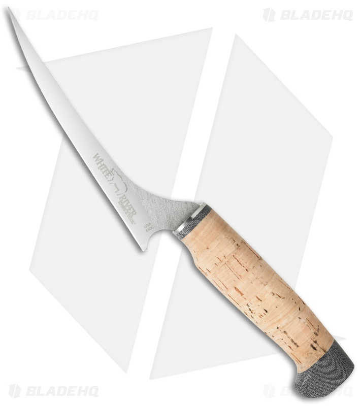 White River Knives 6 Quot Step Up Fillet Knife Cork Blade Hq