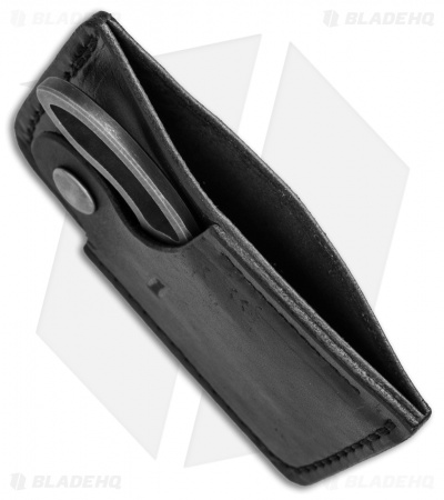 "Wilmont Knives Little Skinner Knife + Leather Wallet/Sheath (2.25"" Satin)"