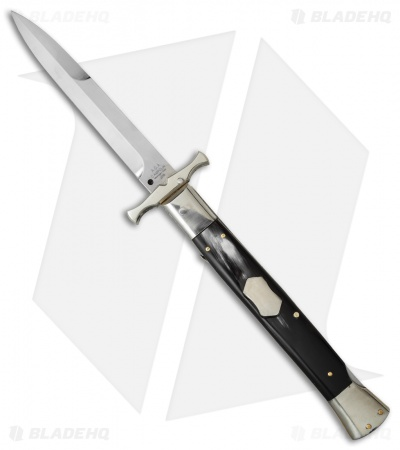 "AGA Campolin 13"" Bat Swinguard Automatic Dark Horn (5.75"" Satin Bayonet)"