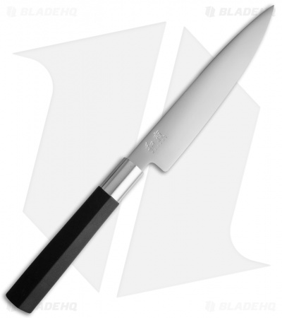 "KAI Wasabi Black 6"" Kitchen Utility Knife 6715U"