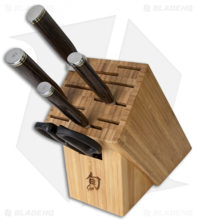 Shun Premier 6 Piece Basic Block Set Kitchen Knives