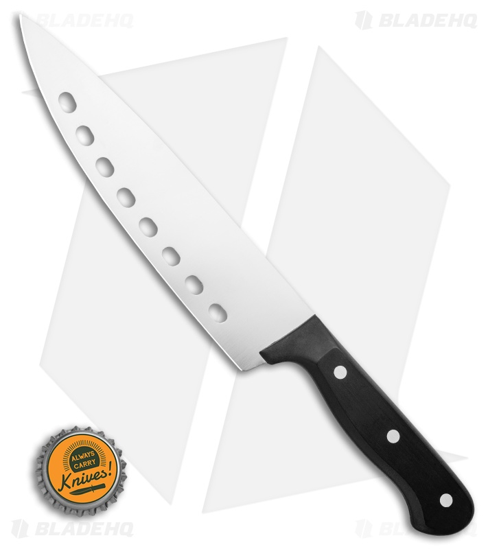 "Wusthof Gourmet Vegetable Kitchen Knife Black (8"" Satin)"