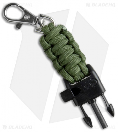 Elk Ridge Outdoor Adventure Gear Pack Knife + Paracord Compass + Whistle