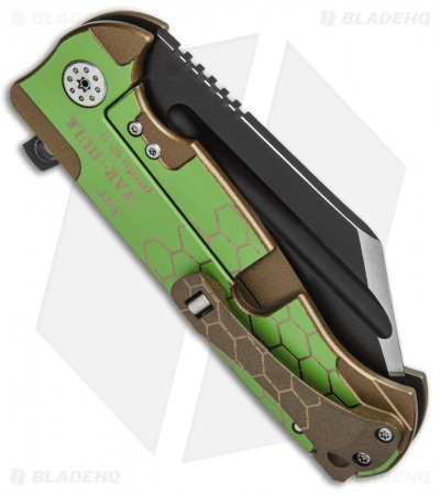 "Andre de Villiers Custom War Hulk Prototype Flipper Knife (4"" Black)"