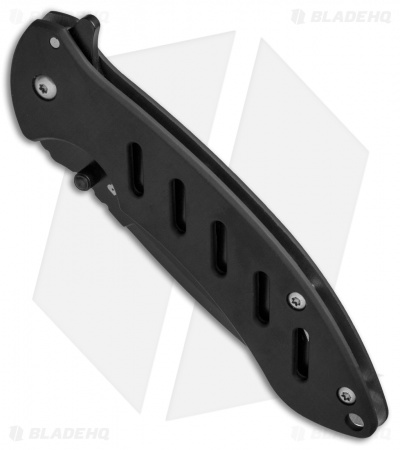 "Bear Edge Large Brisk 1.0 Frame Lock Knife Black (3.6"" Black)"