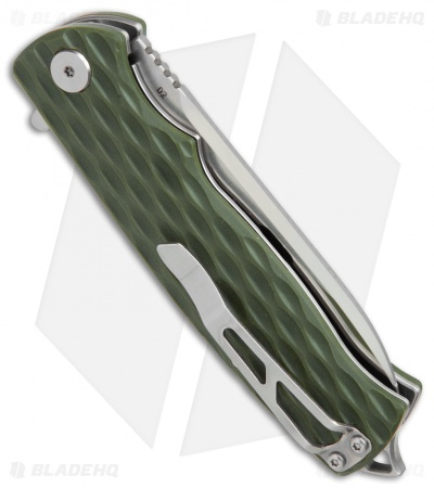 "Bestech Knives Grampus Liner Lock Knife Green G-10 (3.5"" Satin)"
