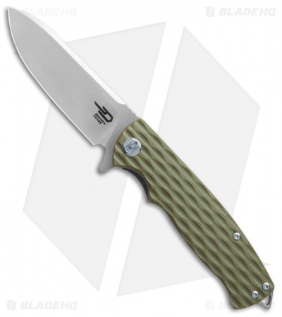 "Bestech Knives Grampus Liner Lock Knife OD Green G-10 (3.5"" Satin)"
