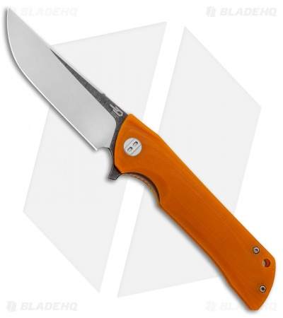 "Bestech Knives Paladin Liner Lock Knife Orange G-10 (3.6"" Two-Tone) BG13C-2"
