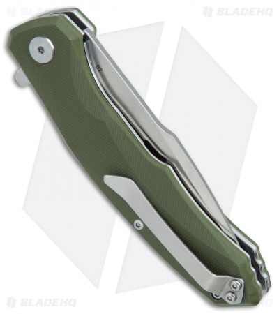 "Bestech Knives Warwolf Liner Lock Knife Green G-10 (3.5"" Satin)"