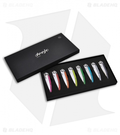 Deejo 27 Gram 8-Color Display Box Set