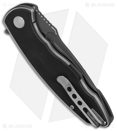 "Factor Equipment Hardened Frame Lock Knife Black G-10 (3.6"" Satin) FH001"