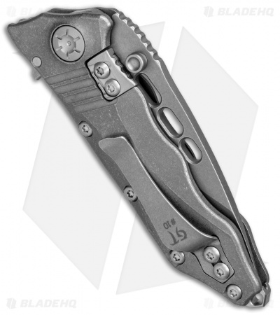 "Guardian Tactical Helix Nano Flipper Knife Titanium (3.125"" Stonewash)"